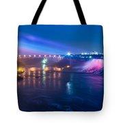 Below Niagara Falls Tote Bag