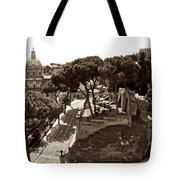 Below The Capitoline Hill Tote Bag