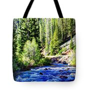 Belt Creek Tote Bag