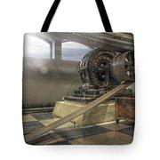 Belt-driven Power Tote Bag