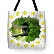 Belted Kingfisher In The Midst Tote Bag