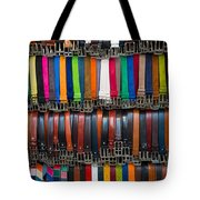 Belts Galore Tote Bag