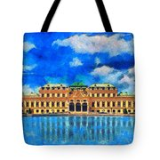 Belvedere Palace Tote Bag
