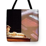 Ben Franklin Glass Harmonica Tote Bag