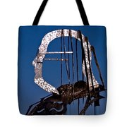 Ben Franklin Tote Bag by Rona Black