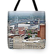Ben Franklin View Tote Bag