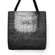 Ben Hur Coffee Tote Bag