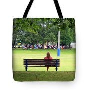 Bench Thoughts Tote Bag