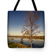 Lonely Friends - Bench And Tree Tote Bag