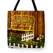 Bench With No Name  Tote Bag