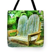 Benches II Tote Bag