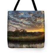 Bend In The Bayou Sunrise Tote Bag