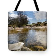 Bend In The Breamish River Tote Bag