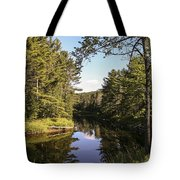 Bend In The River Tote Bag