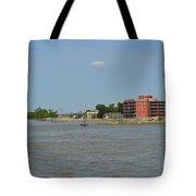 Bend Of The Mississippi River Tote Bag