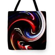 Bending Light Tote Bag
