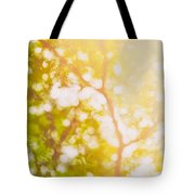 Beneath A Tree  14 5199   Diptych  Set 1 Of 2 Tote Bag