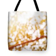 Beneath A Tree 14 5286 Triptych Set 3 Of 3 Tote Bag by Ulrich Schade