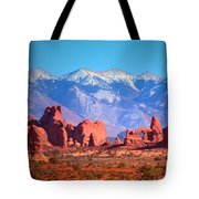 Beneath Blue Skies Tote Bag