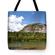 Beneath Cathedral Ledge Tote Bag