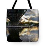 Beneath The New Hope - Lambertville Bridge Tote Bag