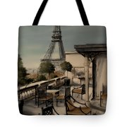 Beneath The Tower   Number 1 Tote Bag by Diane Strain