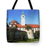 Benedictine Abbey Tote Bag