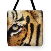 Bengal Tiger Face Tote Bag