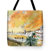 Benidorm Old Town Tote Bag