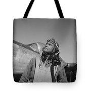Benjamin Davis - Ww2 Tuskegee Airmen Tote Bag