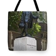 Benjamin Franklin Statue University Of Pennsylvania Tote Bag