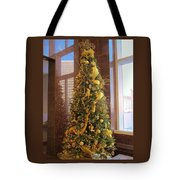 Benson Towers - Fleur De Lis Tree - New Orleans La Tote Bag