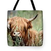 Bent Horn Long Horn Tote Bag