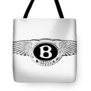 Bentley Emblem -0082c Tote Bag
