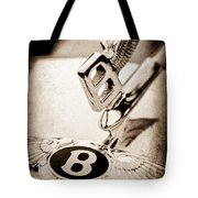 Bentley Hood Ornament - Emblem Tote Bag