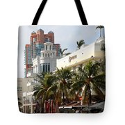 Bentley Hotel Miami Tote Bag