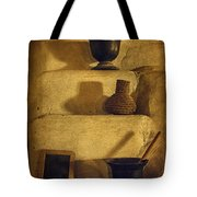 Bent's Old Fort Kitchen Fireplace Tote Bag