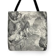 Beowulf Finds The Head Of Aschere Tote Bag