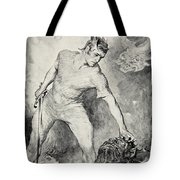 Beowulf Shears Off The Head Of Grendel Tote Bag by John Henry Frederick Bacon