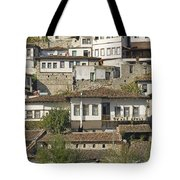 Berat Old Town In Albania Tote Bag
