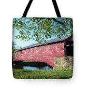 Berks Courty Pa - Griesemer's Covered Bridge Tote Bag