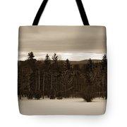 Berkshires Winter 1 - Massachusetts Tote Bag