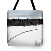 Berkshires Winter 2 - Massachusetts Tote Bag