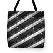 Berlin Balconies Tote Bag