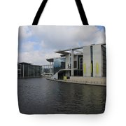 Berlin Government Building  Tote Bag