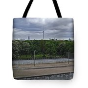 Berlin Wall No Man's Land Tote Bag