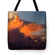Bermuda Clouds Tote Bag