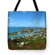 Bermuda From Gibbs Hill Lighthouse Tote Bag