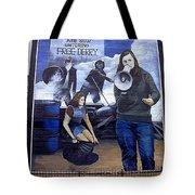 Bernadette Devlin Mural Tote Bag