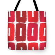 Berry Boxes- Contemporary Abstract Art Tote Bag